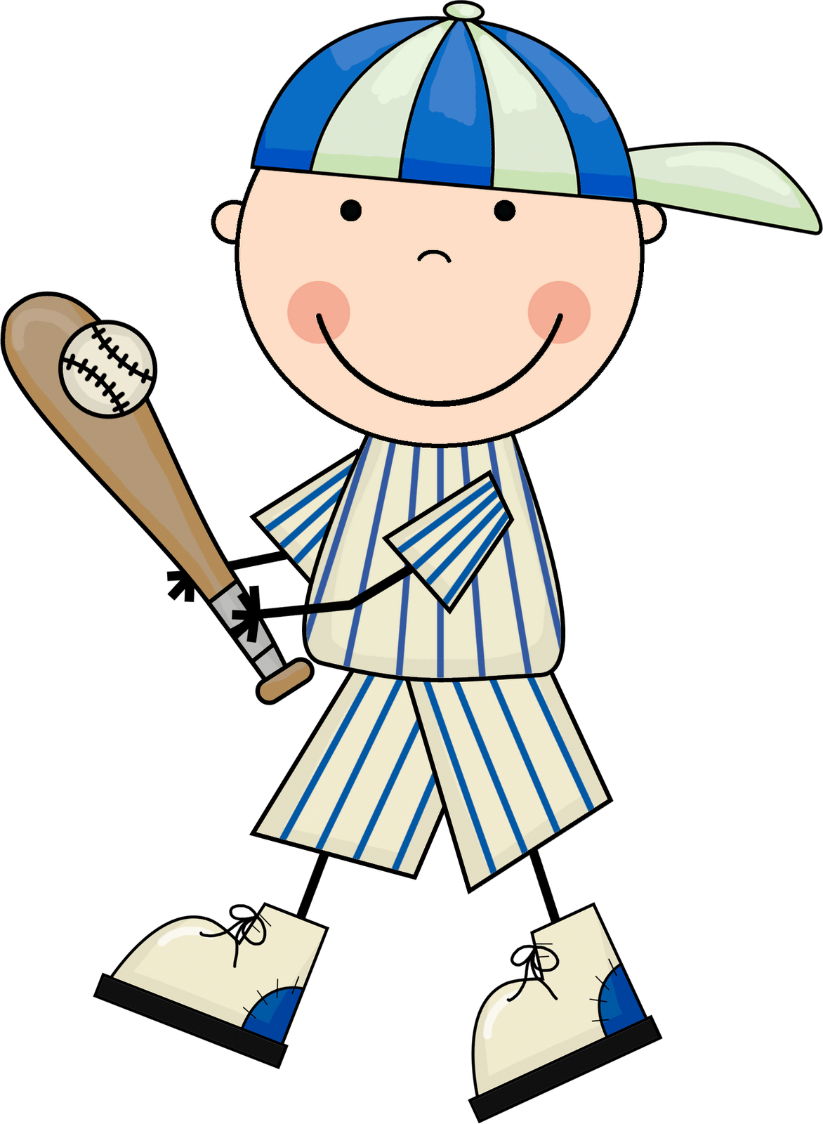 1172x1600 Little Boy Baseball Player Clipart