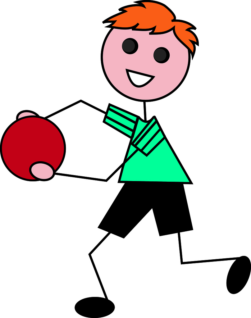 808x1024 Clip Art Illustration Of A Cartoon Little Red Haired Boy Playing