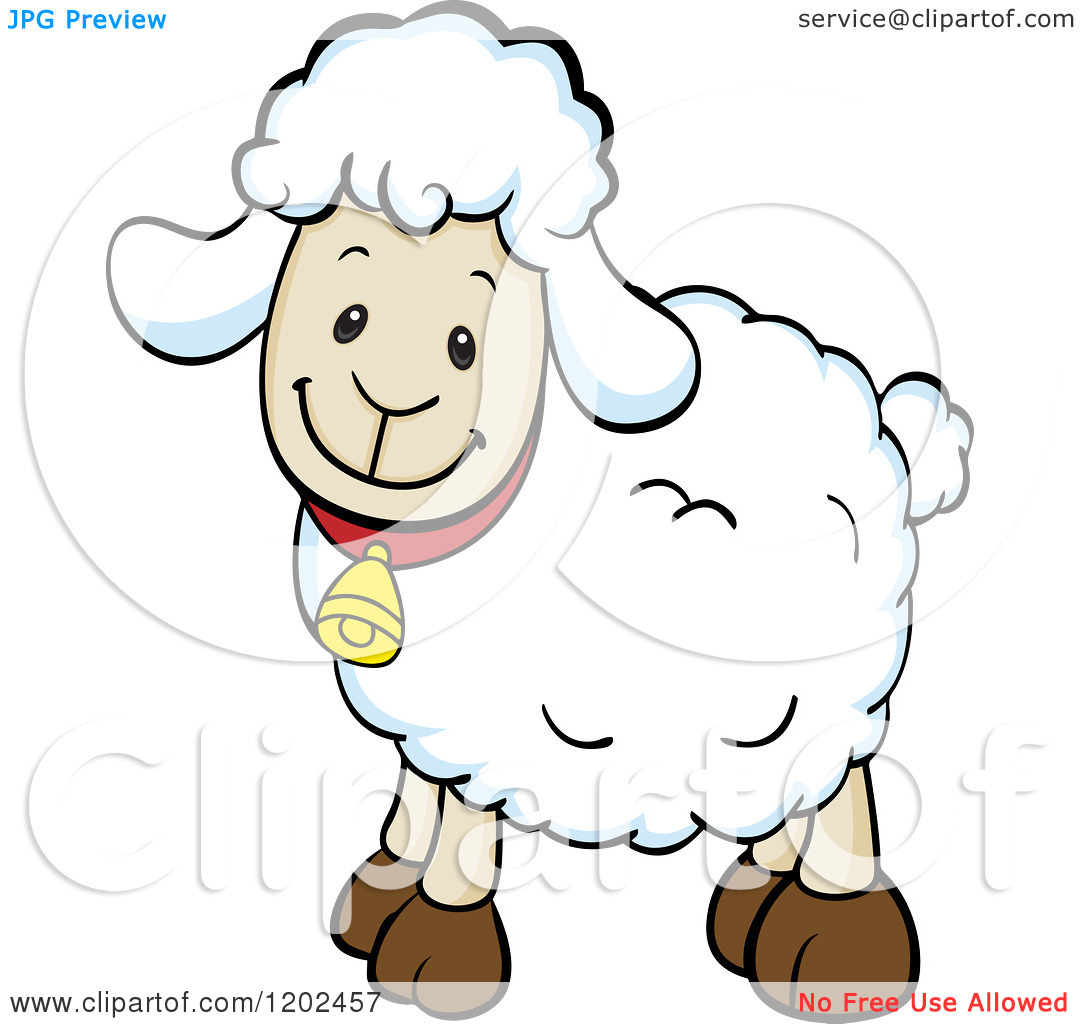 1080x1024 Cute Baby Lamb Clipart