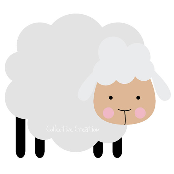 570x570 Little Lamb Clipart