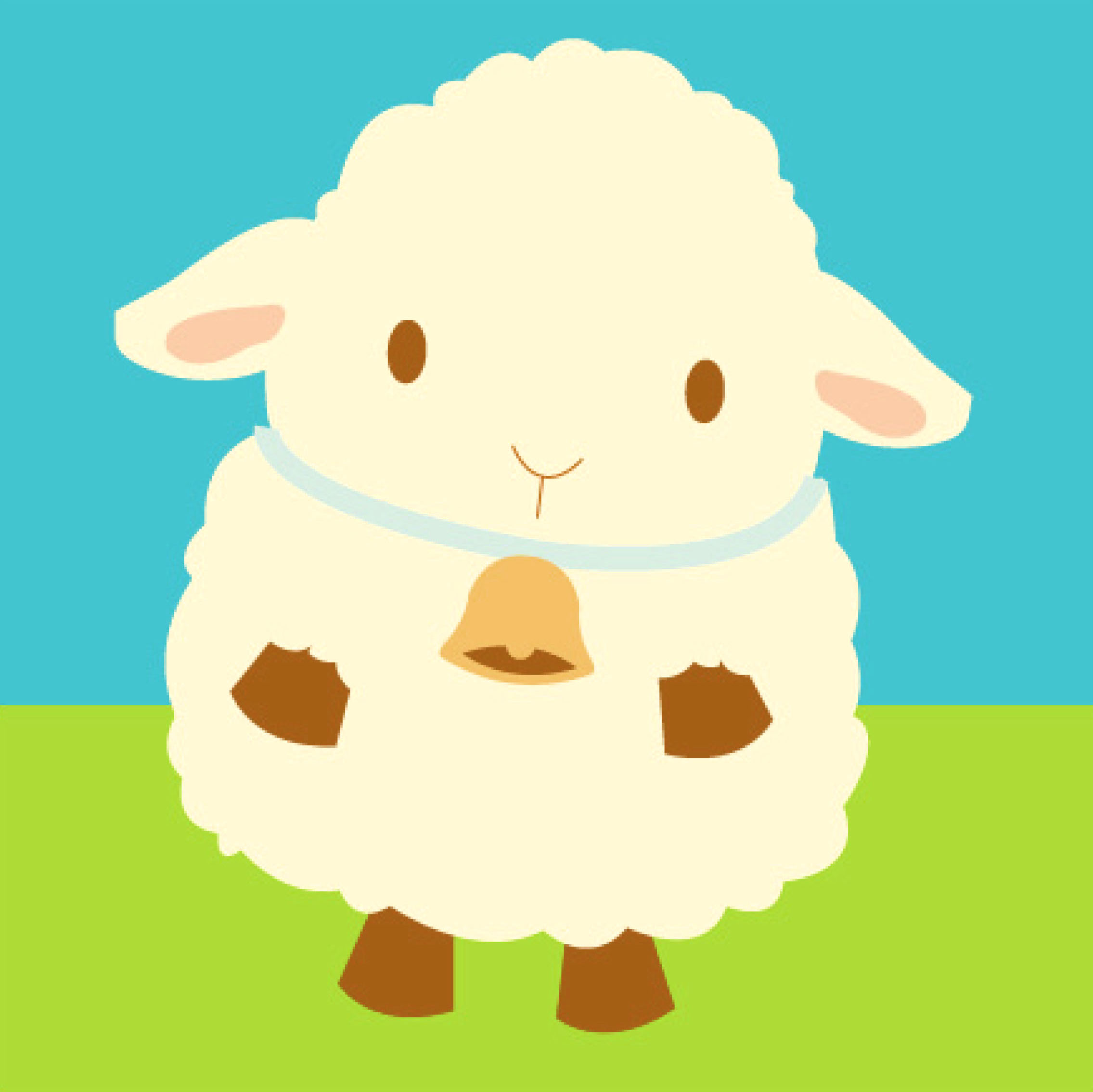 2271x2268 Little Lamb Face Clipart Clipart Kid