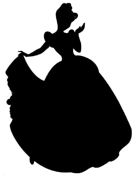 Little Mermaid Silhouette Clipart