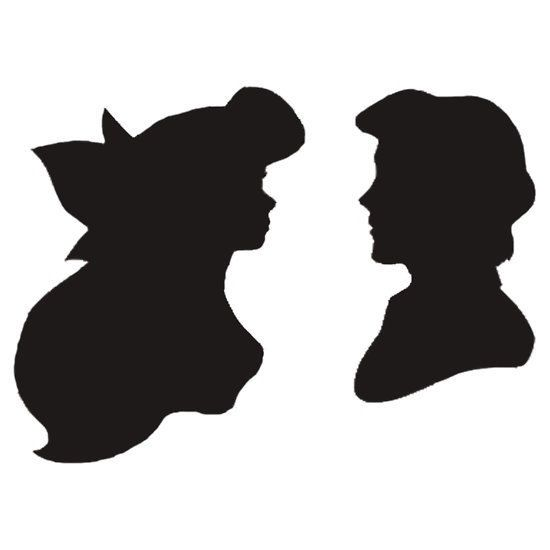 550x550 Little Mermaid Silhouette, Mermaid Silhouette And Little Mermaids