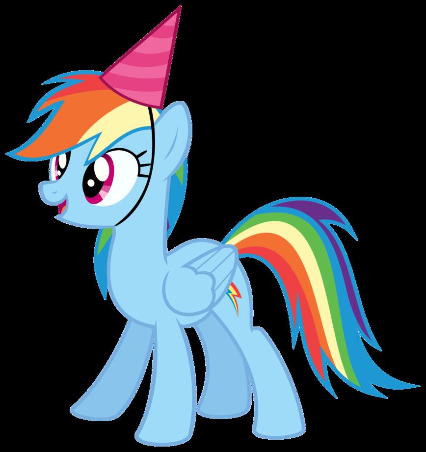 868x921 My Little Pony Clipart Happy Birthday