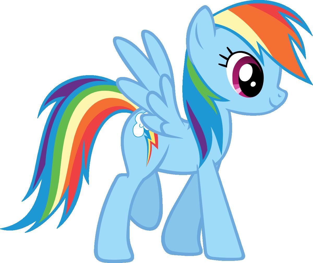 1200x1011 Profile Rainbow Dash By On @