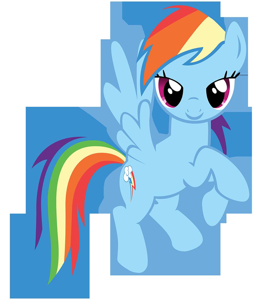 878x1000 Rainbow Clipart My Little Pony