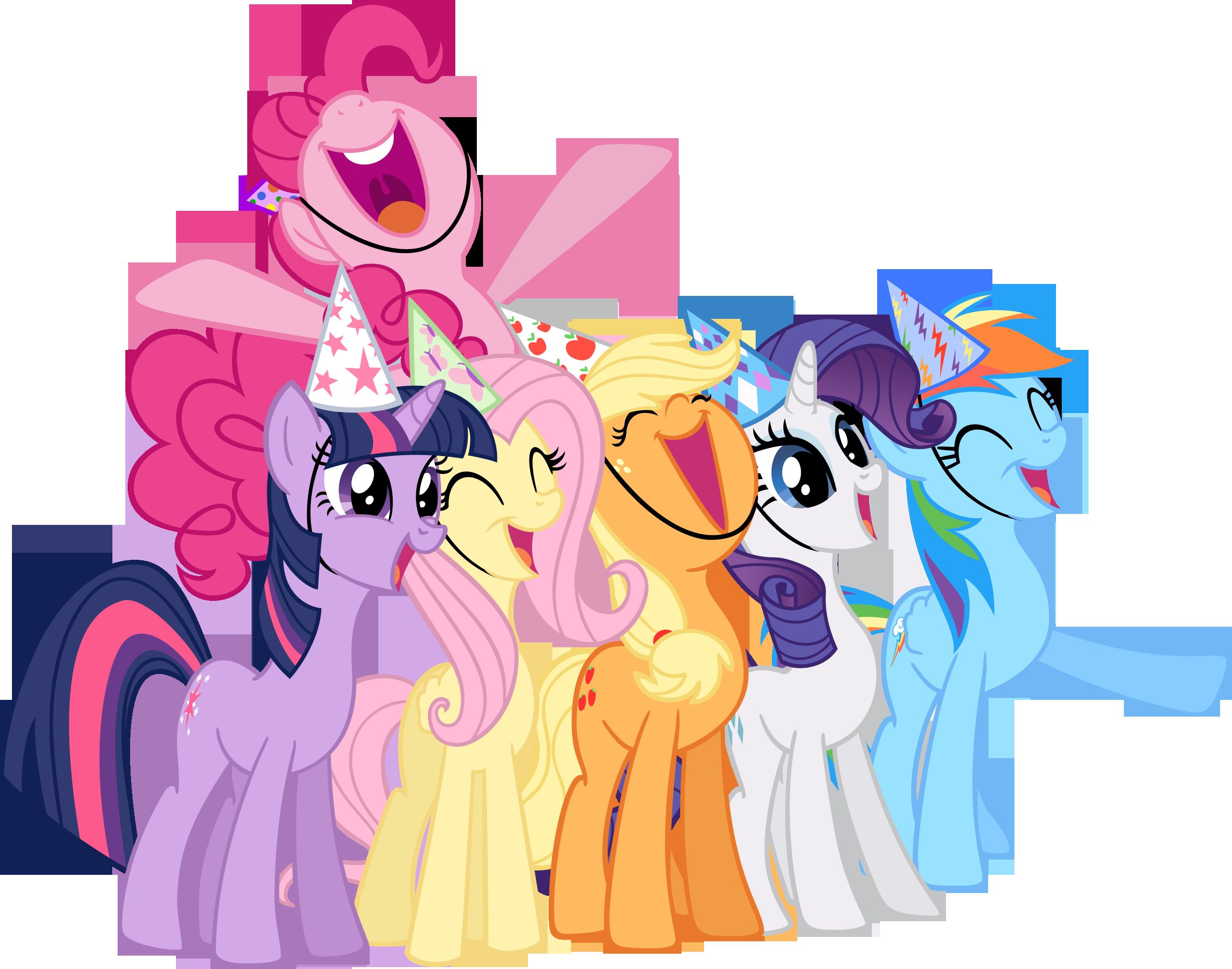 2576x2027 Birthday Clipart My Little Pony