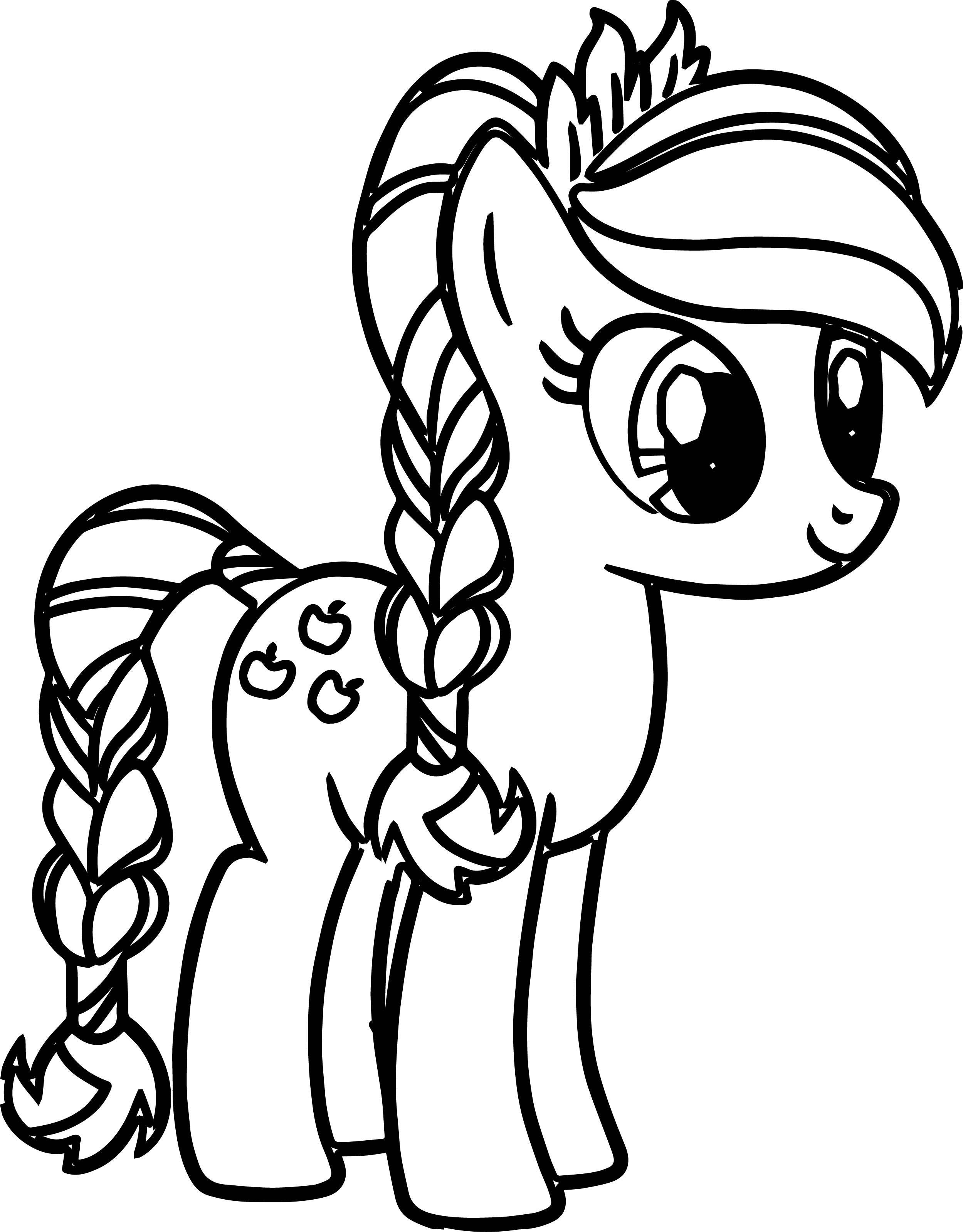 2499x3197 Pony Cartoon My Little Coloring Pages Wecoloringpage