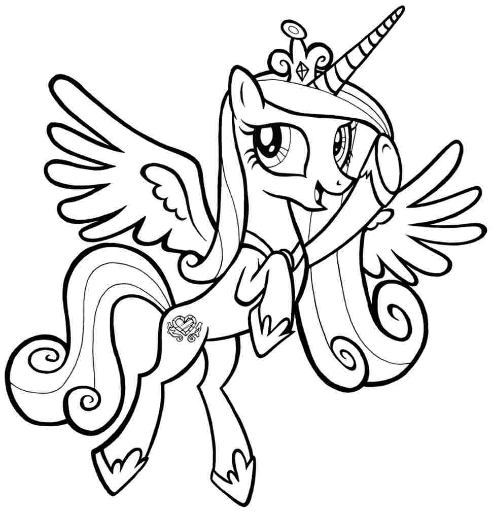 This is a photo of Canny Free My Little Pony Coloring Pages