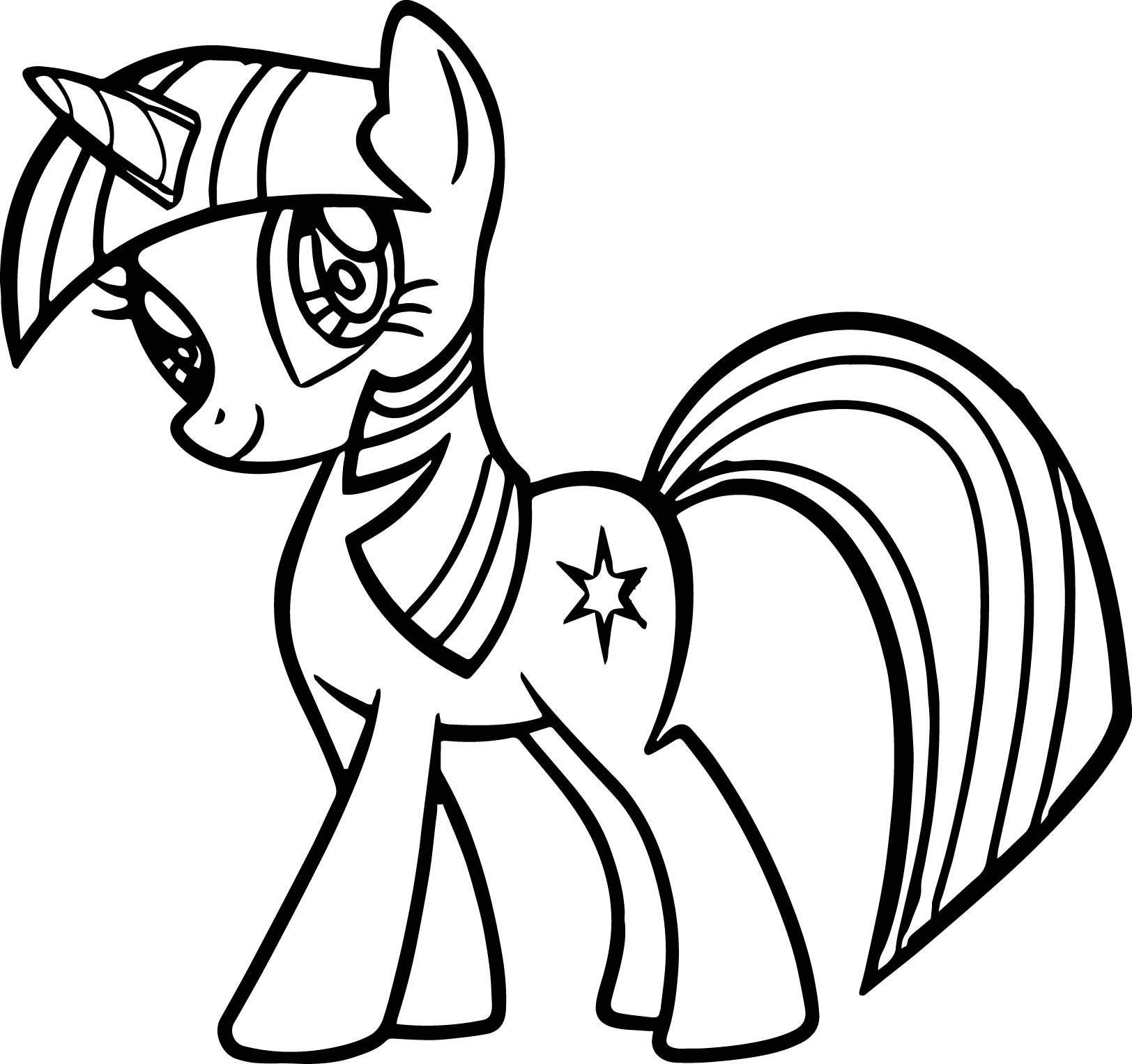 My Little Pony Princess Ausmalbilder : Little Pony Coloring Pages Free Download Best Little Pony Coloring