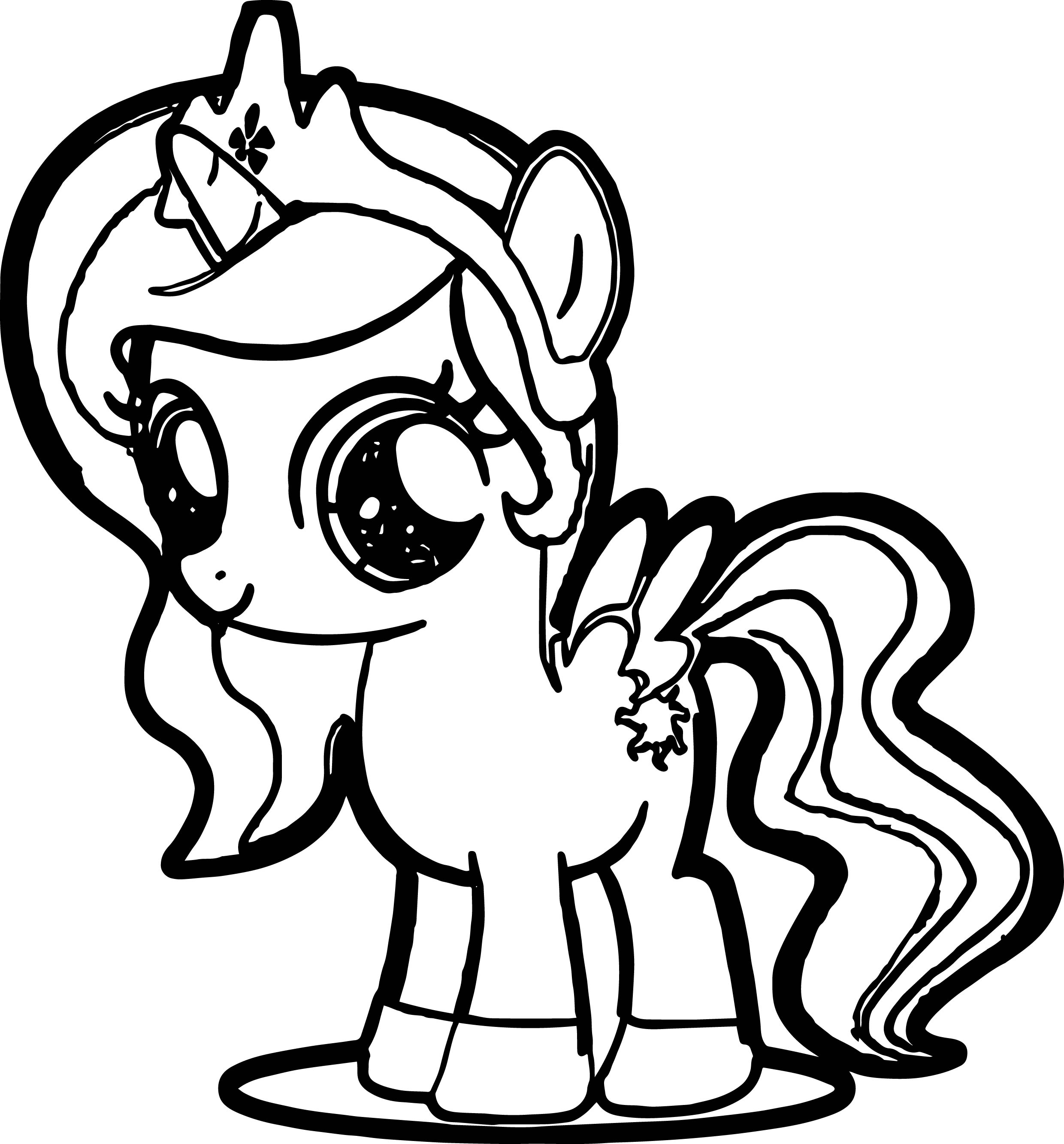 pony coloring pages free on clipartmag