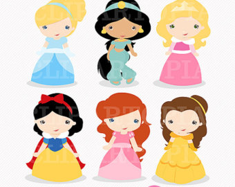 340x270 Princess Digital Clipart Little Princess Clip Art