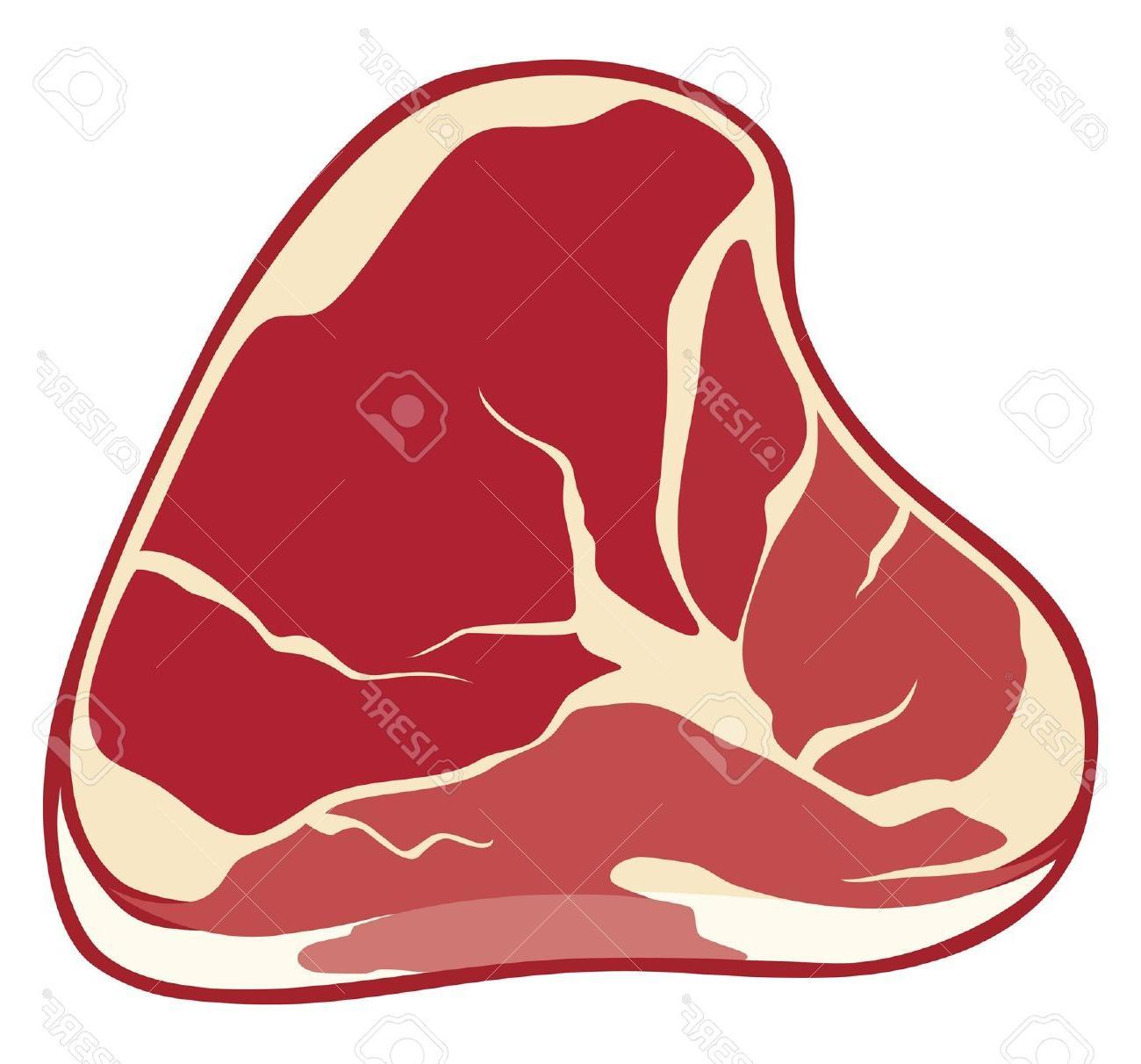 1300x1212 Best Free Steak Meat Stock Vector Cartoon Images