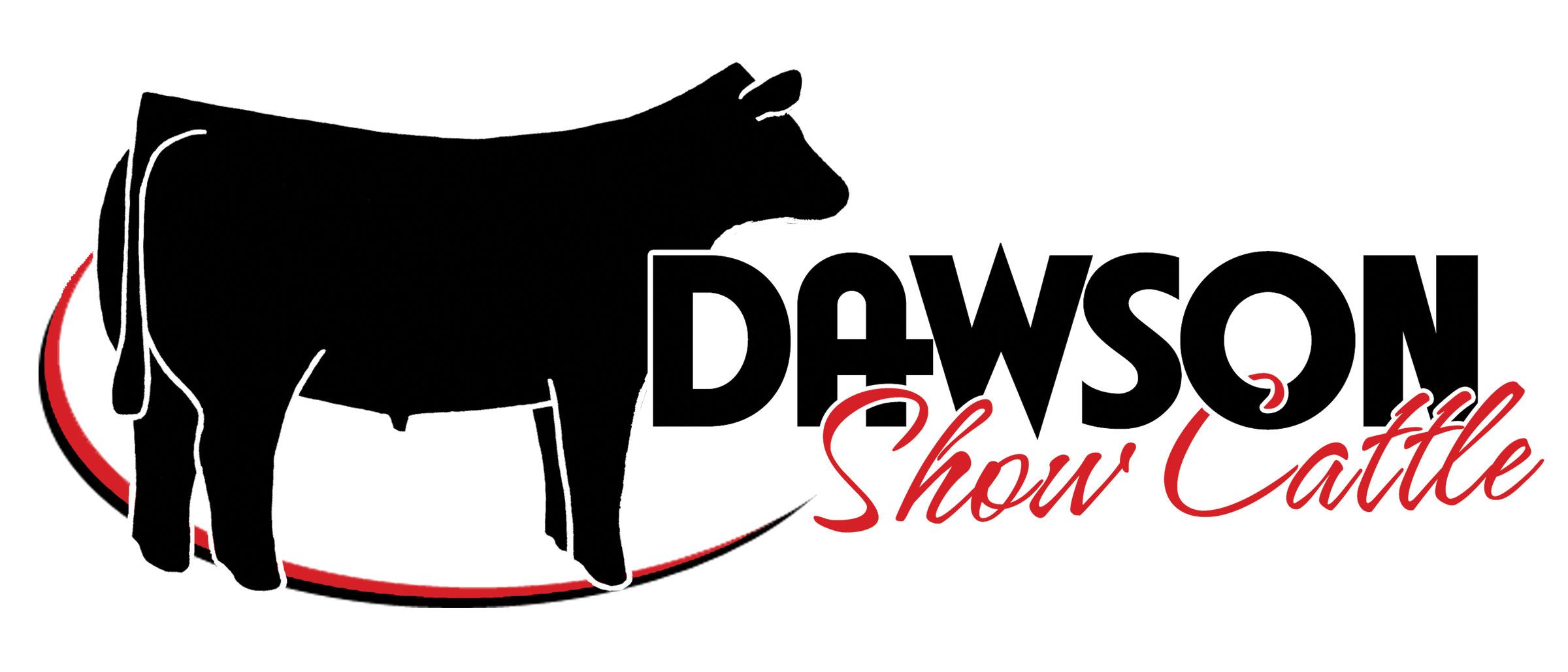 2400x1028 Dawson Show Cattle Logo By Ranch House Designs Logo