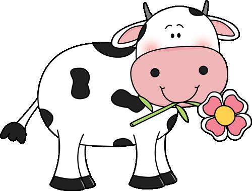 500x380 Cattle Clipart Cartoon