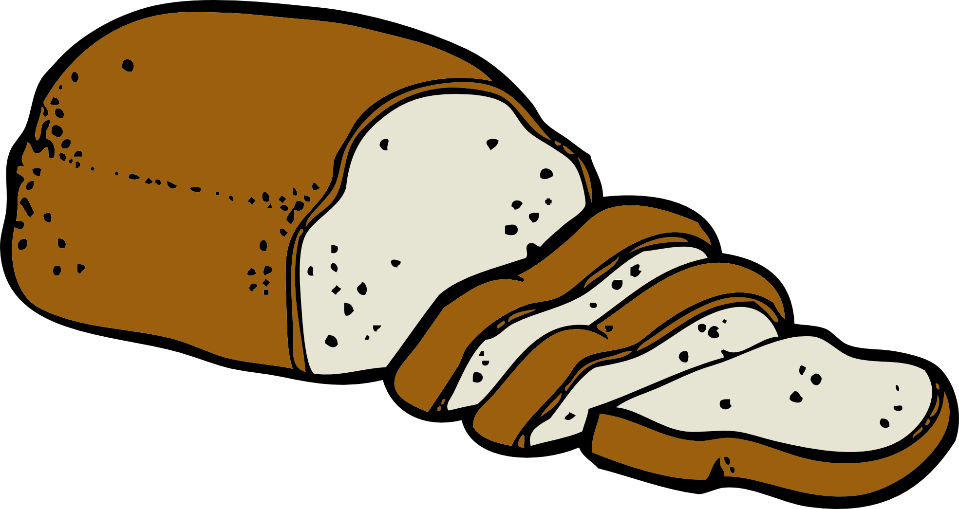 1969x1046 Cereal Clipart Loaf Bread