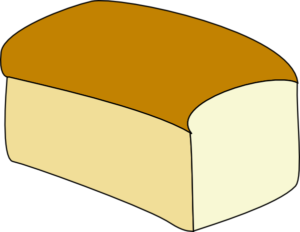 600x465 Loaf Of Bread Clip Art