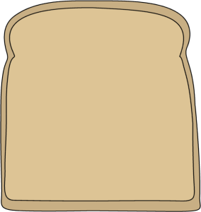 284x300 Slice Of Bread Clipart Many Interesting Cliparts