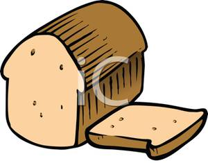300x235 Art Image A Sliced Loaf Of Bread
