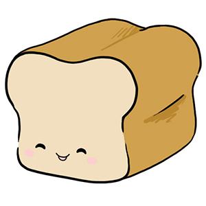 300x300 Bread Clipart Cute