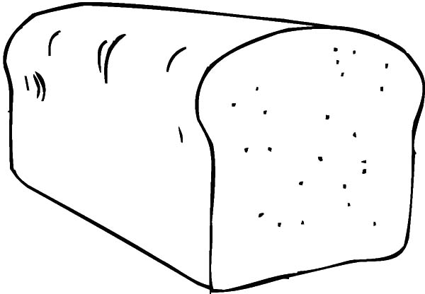 600x416 Bread Slice Coloring Page Murderthestout