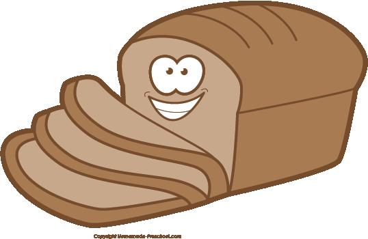 538x350 Bread Clipart Preschool