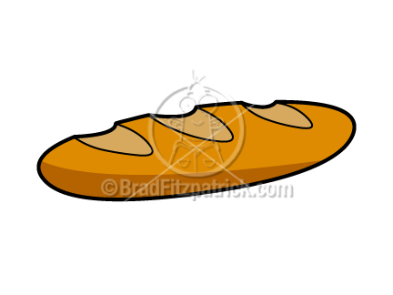 432x324 Cartoon Bread Clip Art Bread Graphics Clipart Bread Icon