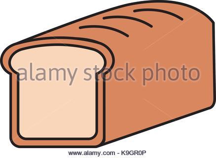 438x320 Cartoon Food Bread Wheat Grain Cereal Stock Vector Art