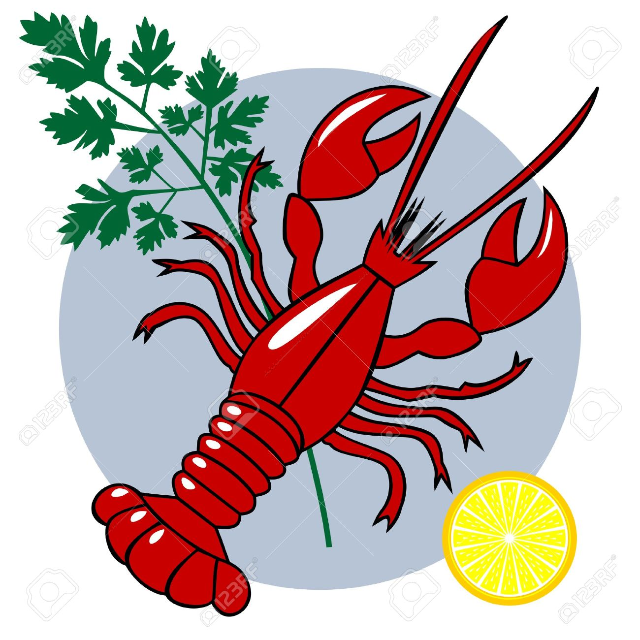 1300x1300 Lobster Clipart Cooked