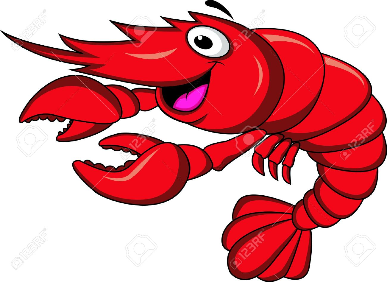 1300x947 Lobster Clipart Shrimp