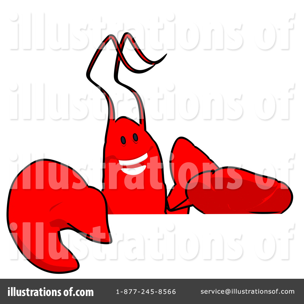 1024x1024 Lobster Clipart