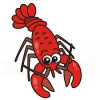 200x200 Lobster Clipart Free