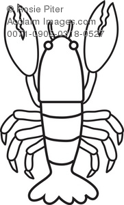 181x300 Lobster Coloring Page Royalty Free Clip Art Picture