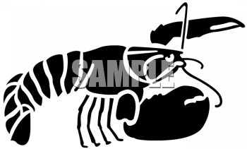 350x211 Royalty Free Lobster Clip Art, Fish And Sea Life Clipart