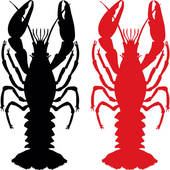 170x170 Royalty Free Red Lobster Clip Art