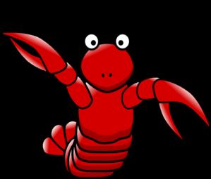 299x255 Cartoon Lobster Clip Art