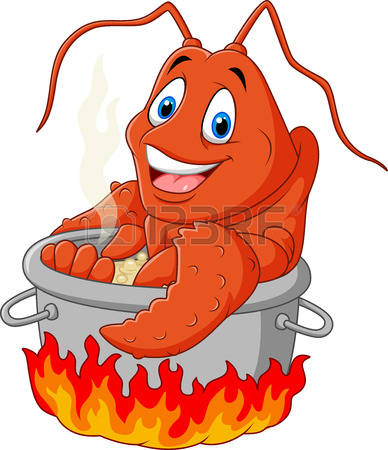 388x450 Funny Lobster Clipart