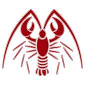 170x170 Lobster Illustration Clip Art