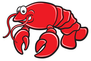 300x200 Lobster Clipart 13 Image