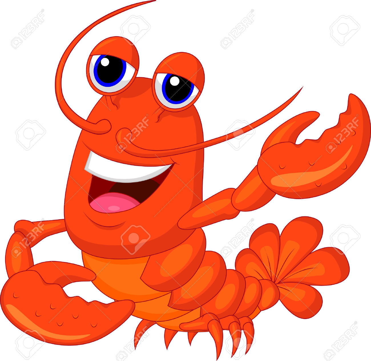 1300x1266 Reef Clipart Lobster