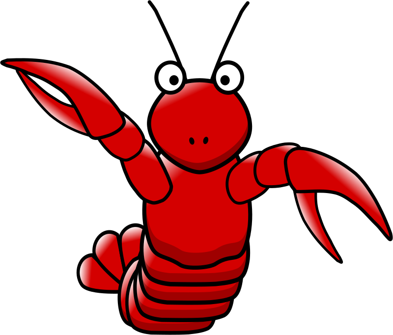 800x682 Lobster Clip Art