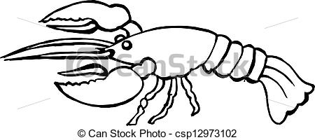 450x200 Lobster Clip Art
