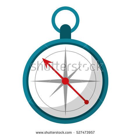 450x470 Compass Clipart Location