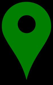 186x297 Green Location Pin Clip Art