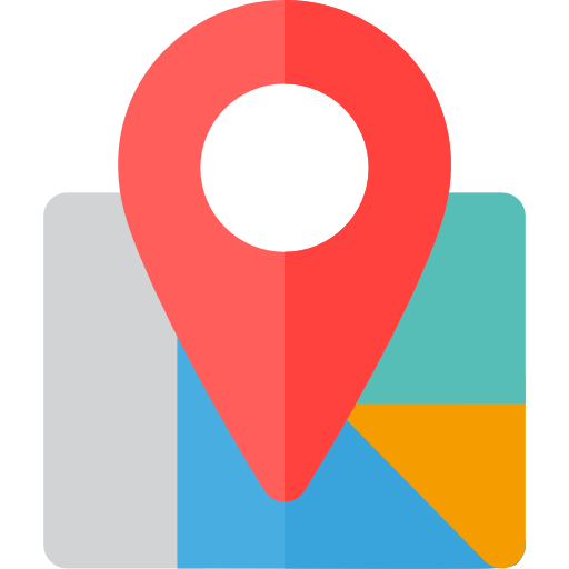 512x512 Map Clipart Location Icon