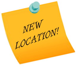 256x227 New Location Clipart