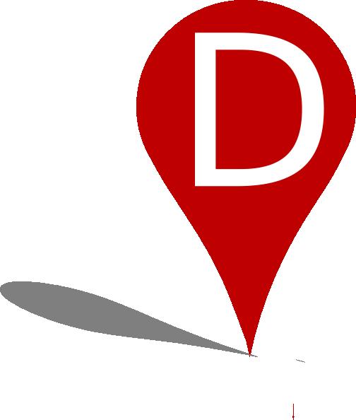504x594 Pin Point Location Marker Purple Clip Art