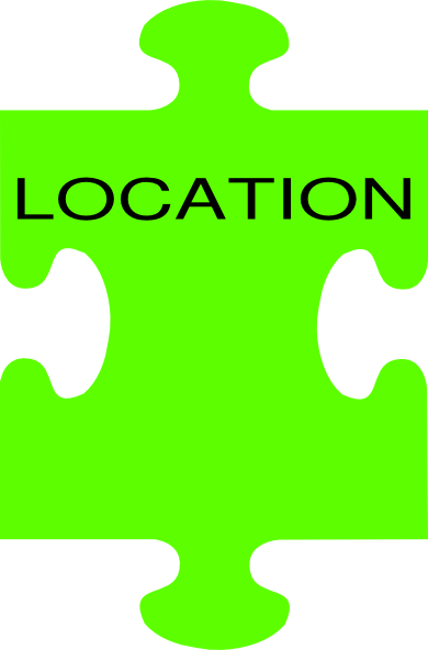 390x592 Puzzle Piece Location Clip Art