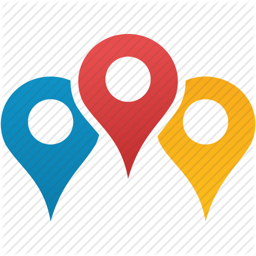 512x512 Pointer Clipart Location Map