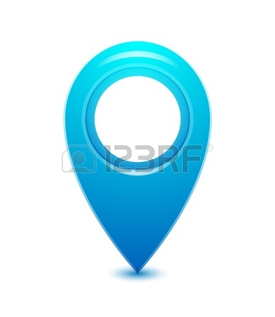 390x450 Vector Location Pointer Icon Royalty Free Cliparts, Vectors,